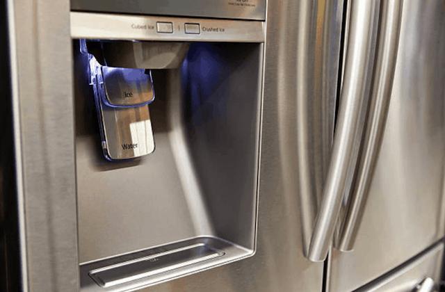 refrigerator closeup